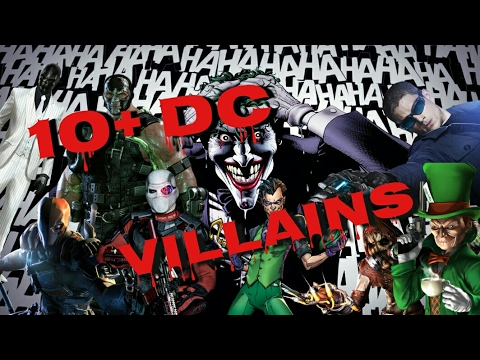 How to make 10+ DC Comics Villains in gta online