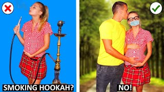 BEST FUNNY COUPLE PRANKS! Couple Funny Pranks and DIY Hacks