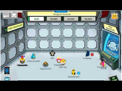 PROOF THAT AUNT ARCTIC IS THE DIRECTOR OF THE PSA AND EPF IN CLUB PENGUIN!