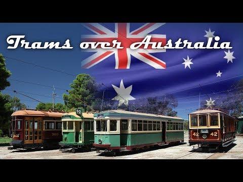 Trams over Australia: Tram & Bahn Adelaide und Trambahnmuseum St.Kilda
