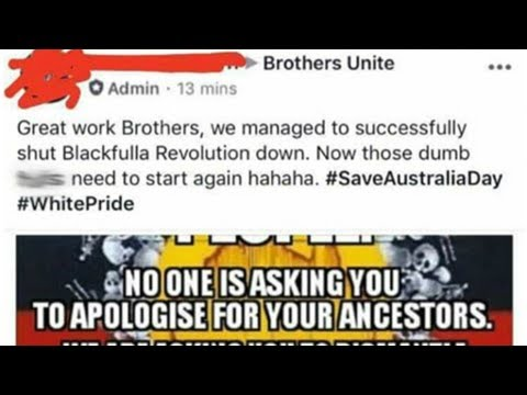 News | Aboriginal Facebook page deleted by hackers in lead-up to Australia Day – as a member of onl
