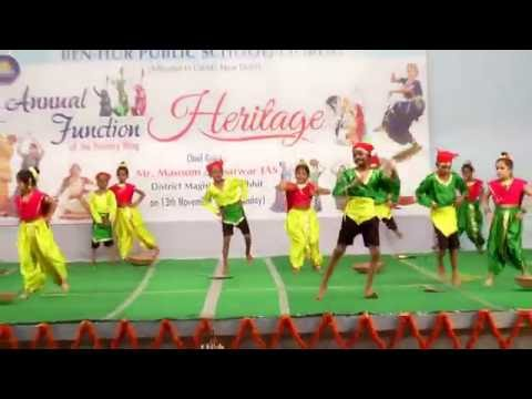 Koli Dance Performance - Ben Hur Public school, annual function