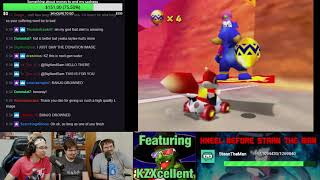 AuGuHuhst Contiues! Diddy Kong Racing Live Playthrough