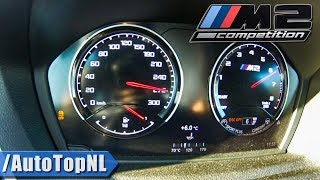 BMW M2 COMPETITION 410HP ACCELERATION 0-271km/h LAUNCH CONTROL by AutoTopNL
