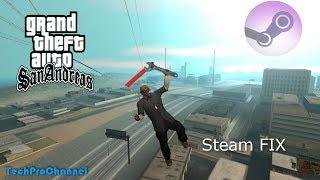 Jak opravit Steam verzi GTA: San Andreas