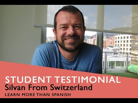General Spanish Course Student Testimonial by Silvan from Switzerland