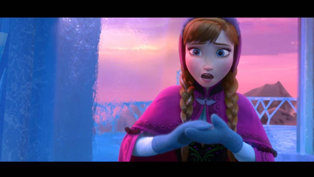 frozen for the first