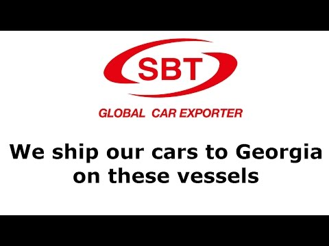 SBT ships its cars to Georgia on these vessels