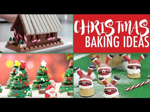 Christmas Baking Ideas Top Xmas Desserts For The Holidays Elise Strachan My Cupcake Addiction Youtube