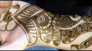 Twisted Henna BEL designs:How To MAKE mehendi design on hand Thumbnail