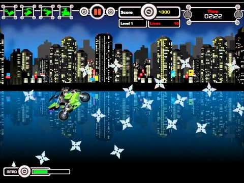 Nitro Ninjas - Ninja-Games.biz