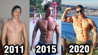 AŠKETOVA TRANSFORMACIJA - Incredible 9 years calisthenics transformation