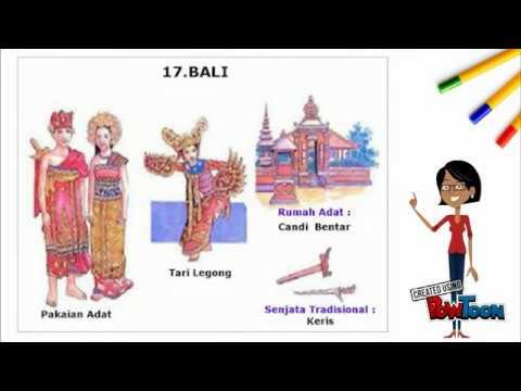 Keberagaman Suku Bangsa Dan Budaya Di Indonesia Youtube