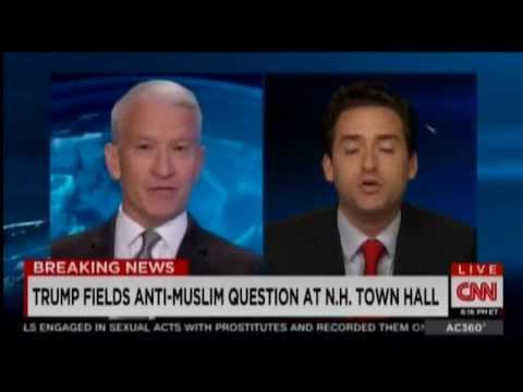 Thumbnail: Anderson Cooper Loses His Cool With Trump Supporter On-Air