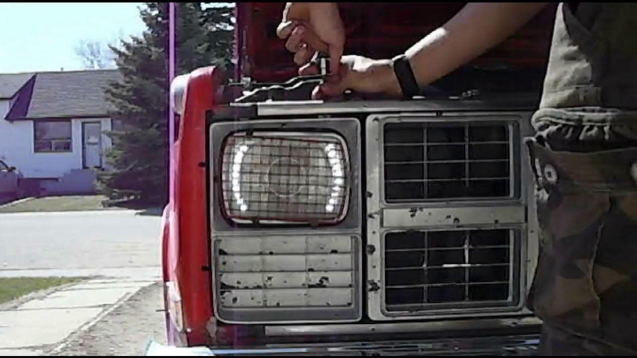 how to fix a bad ground wire on a headlight [ 1280 x 720 Pixel ]