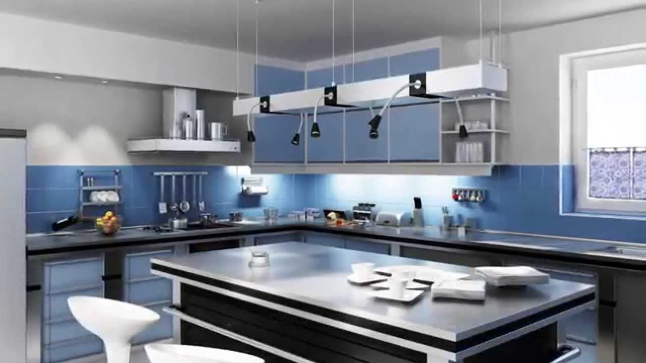 Dise o cocinas modernas youtube for Software diseno de cocinas