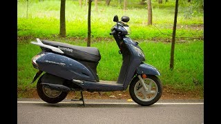 Honda activa 125 review after 2000 km .