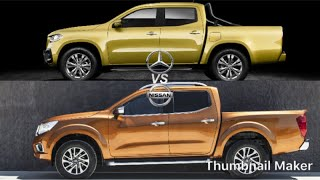 Mercedes X-Class vs Navara NP300 Review The True Facts