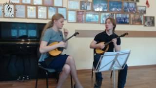 Екатерина Мочалова (домра) - Мастер-класс