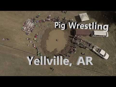 Pig Wrestling & Marion County Fair, Yellville, Arkansas (Sep 2017)