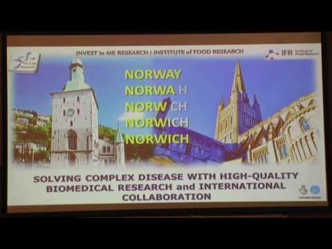 Public talks in Norwich on ME/CFS biomedical research