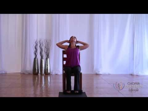 youtube chair yoga kitchen islands with chairs
