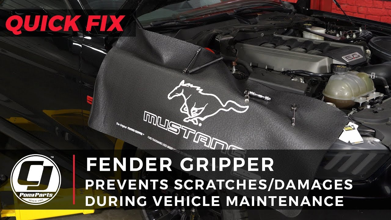 Ford Mustang Fender Cover Gripper