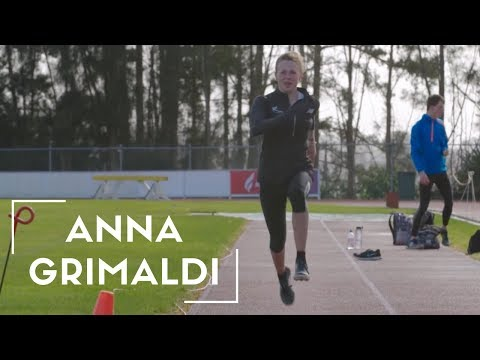 Meet Our Paralympians: Anna Grimaldi