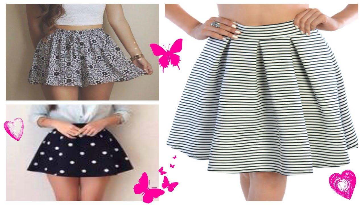 600db0f4f DIY: Transforma y dale estilo a tu vieja falda | How to Renovate your Old  skirt!
