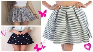 DIY: Transforma y dale estilo a tu vieja falda | How to Renovate your Old skirt!