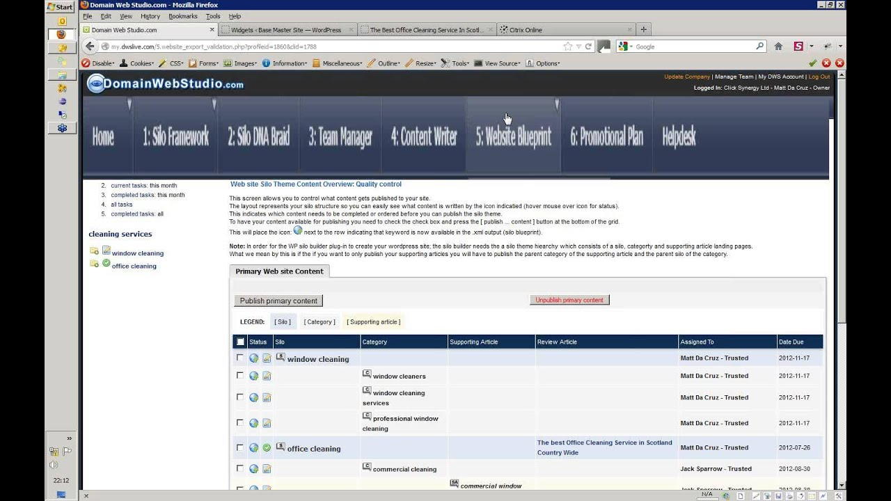 Part 5 dws webinar replay create blueprint and publish to website part 5 dws webinar replay create blueprint and publish to website silo blog builder wp plugin malvernweather Images