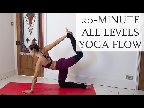 SOFT & STRONG | 20-minute all levels yoga flow | CAT MEFFAN