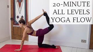 Video SOFT & STRONG   20-minute all levels yoga flow   CAT MEFFAN download MP3, 3GP, MP4, WEBM, AVI, FLV Maret 2018