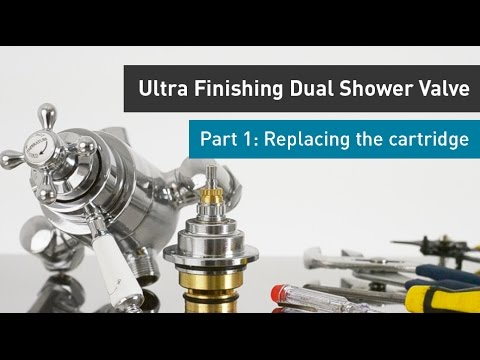 Premier Ity309 Traditional Dual Exposed Thermostatic Shower Valve.Ultra Finishing 3 4 Dual Control Valve Part 1 Replacing The Cartridge