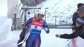 Luge World Cup Opening Olympic Season 2017/2018 in Innsbruck Igls in Tyrol