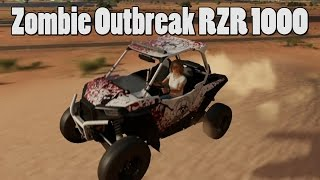 Forza Horizon 3 - Polaris RZR 1000 Build - Zombie Outbreak Team