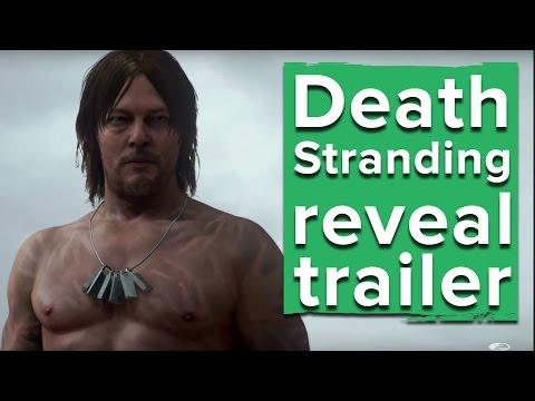Death Stranding reveal trailer - Kojima's new game! - PlayStation E3 2016