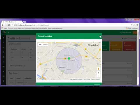GPS Employee Tracking Software - Dashboard View - 9AM