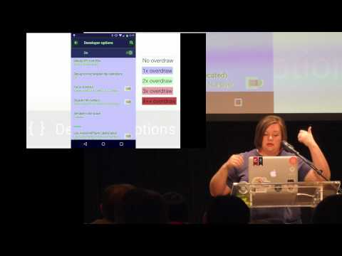 Droidcon NYC 2015 - Android Developer Options: What can those toggles do for me?