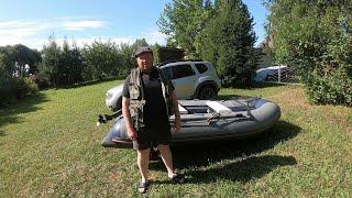 Два дня на реке Рыбалка на Вятке сплавом