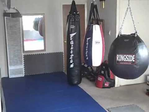 Home Mma Gym Update 9 02 10 Youtube