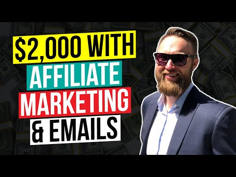How I Generated $2,000 With Affiliate Marketing & Emails thumbnail