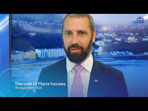 The cost of Manx houses