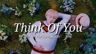 Gambar cover Ha Sungwoon - Think Of You (Her Private Life OST Part 6) Lyrics Terjemahan Indonesia