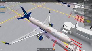 [ROBLOX] Aqua Airways 2 Plane Flight, A320 NEO And ERJ195 Beach Front House!