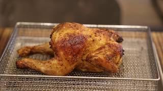 쿠진아트 에어프라이어에 로스트치킨만들기