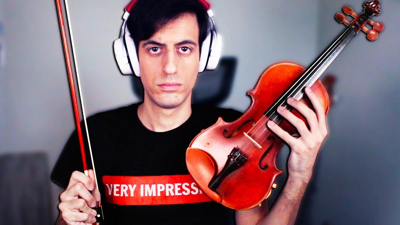I play the VIOLIN... (SACRILEGIOUS FOOTAGE)