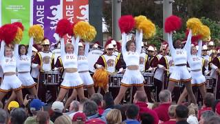 USC Band Pep Rally Union Square San Francisco California 2018