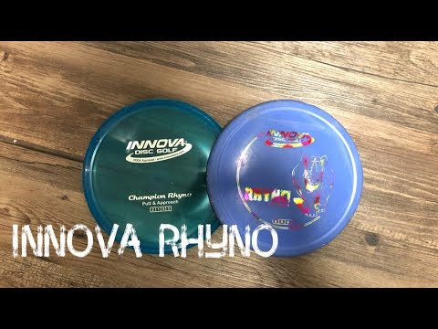 Disc Review: Innova Rhyno   Putt and Approach   Disc Golf