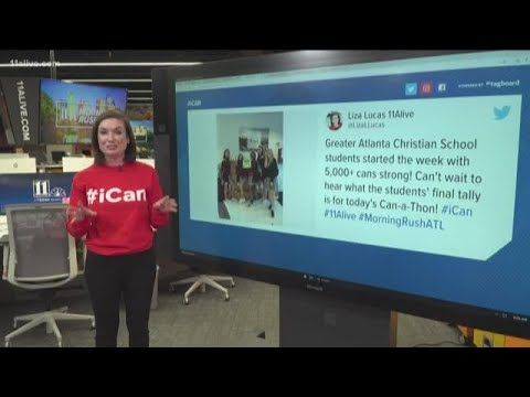 Greater Atlanta Christian School donates to Can-A-Thon